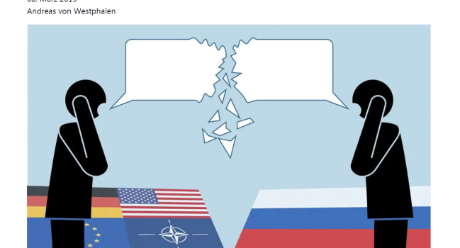 New approaches for a dialogue with Russia