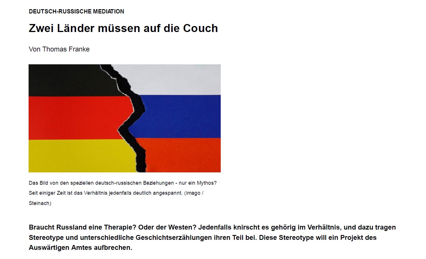 German-Russian Mediation